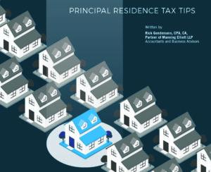 principal residence tax tips by manning_elliott