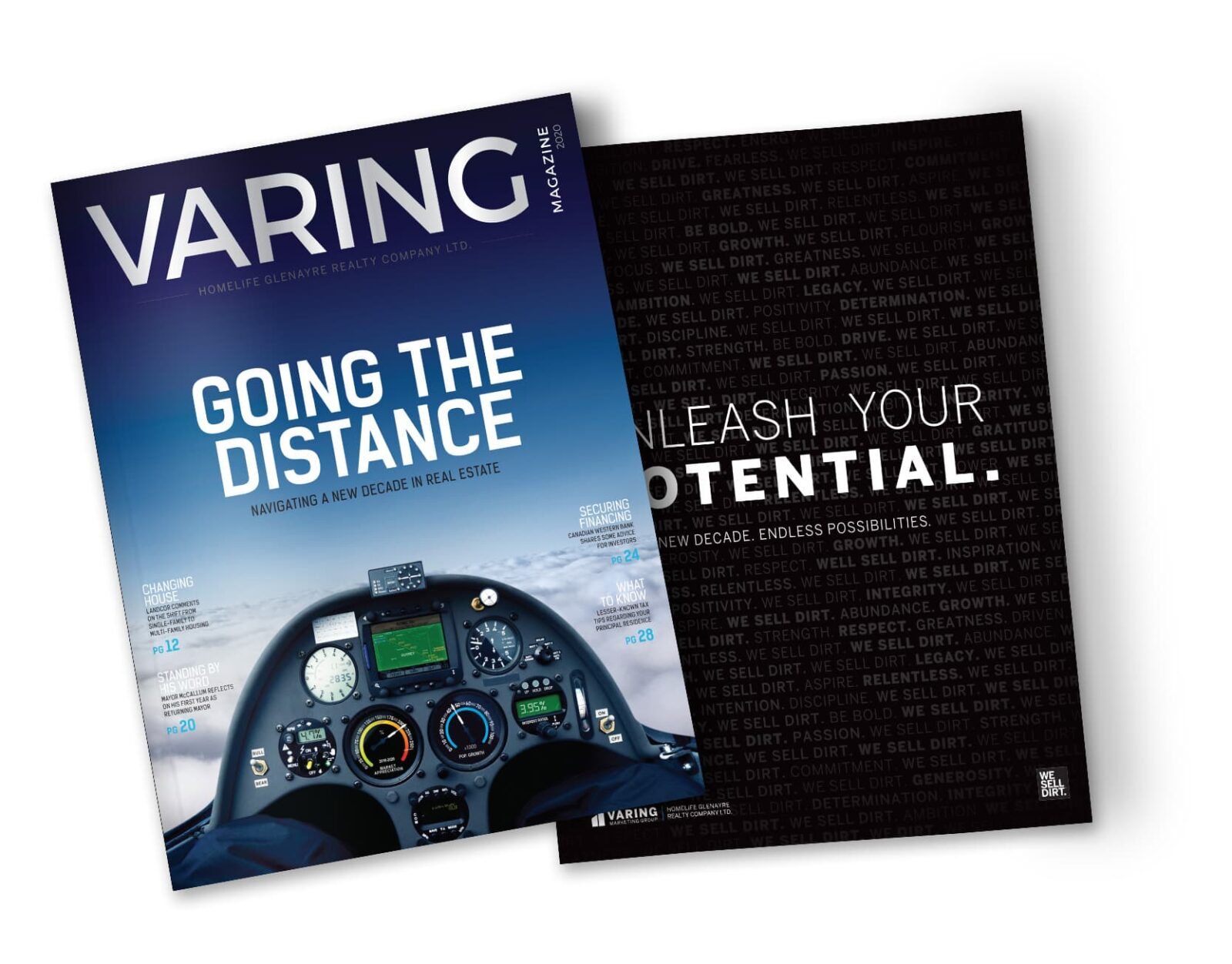 VMag 2020 - Going the Distance Cover- Front+Back