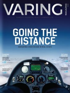 Varing Magazine 2020 - Going the Distance Cover -