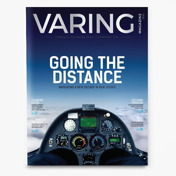 Varing Magazine 2020 - Going the Distance Cover