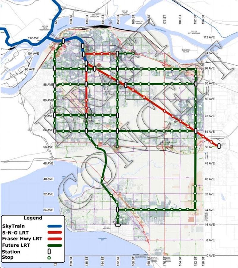 LRT: Long-Range Vision (City of Surrey)