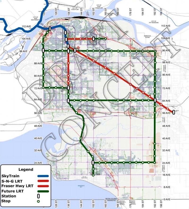LRT: Medium-Range Vision (City of Surrey)